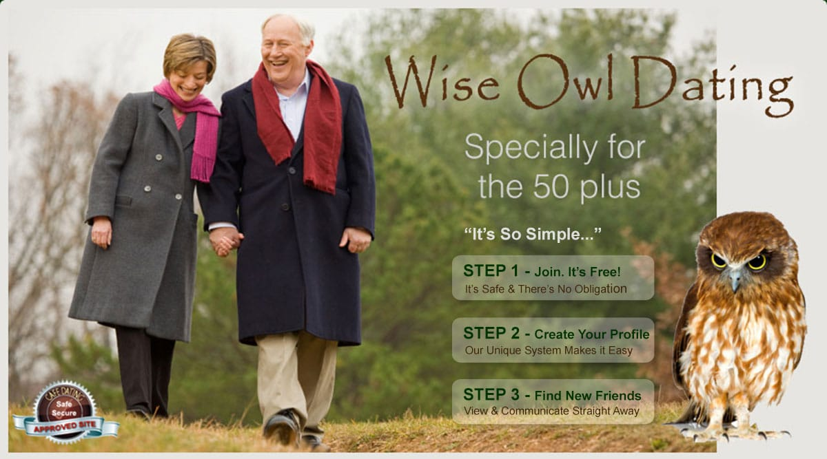 Wise Owl Dating for 50s and 60s Singles