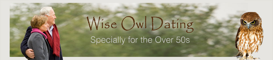 Wise Owl Dating Dating for Over 50 singles banner