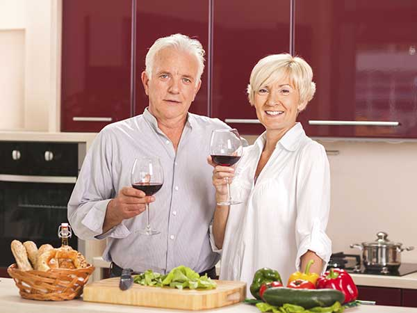 celebrating dating for older people some in their 60s